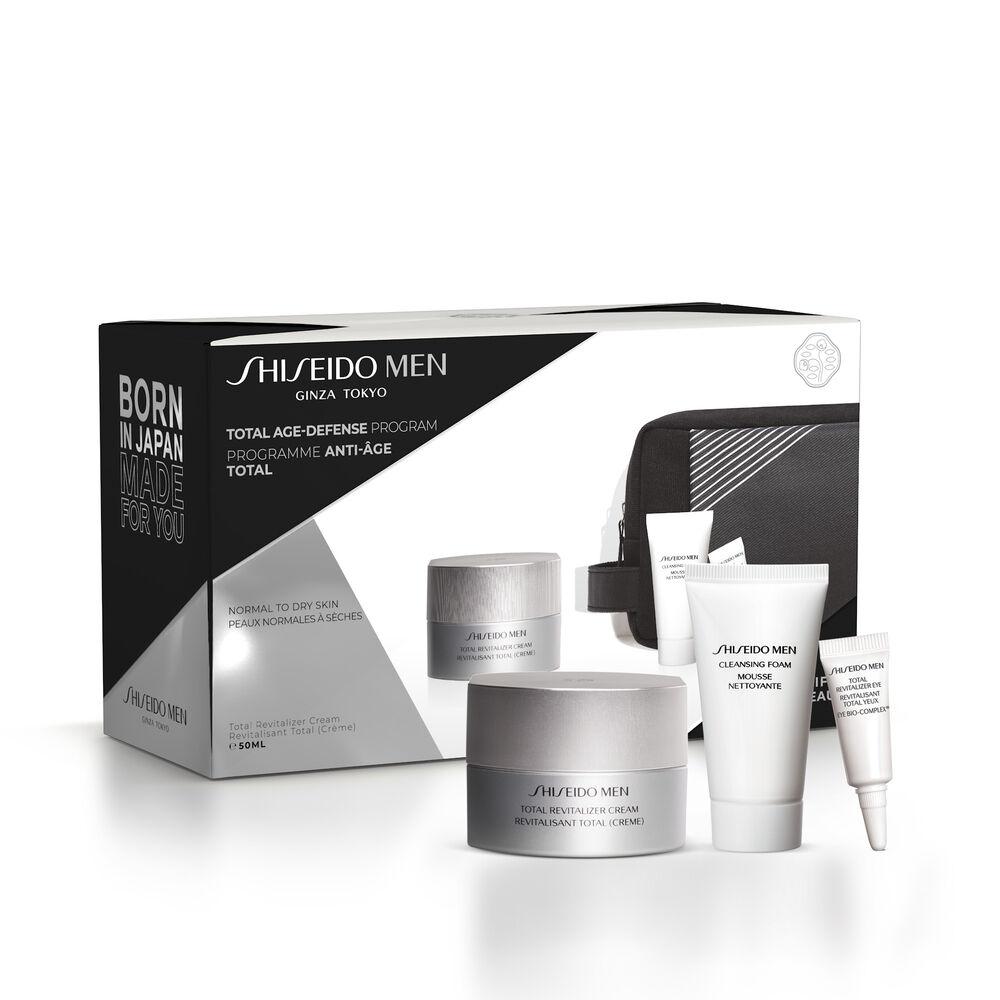 Shiseido Men Total Revitalizer Pouch Set,