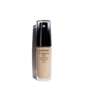 SYNCHRO SKIN GLOW Luminizing Fluid Foundation, N2 - SHISEIDO MAKEUP, Fondos