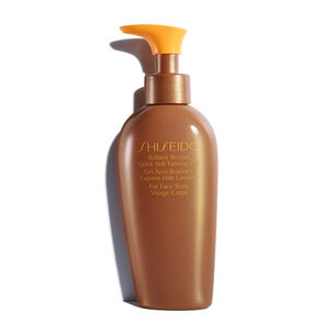 Brilliant Bronze Quick Self-Tanning Gel - SHISEIDO, Bronceadores