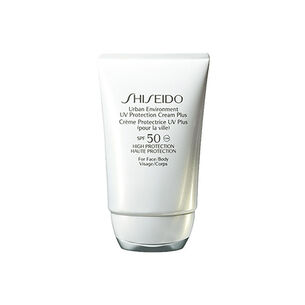 Urban Environment UV Protection Cream Plus SPF50 - Shiseido, Protección rostro